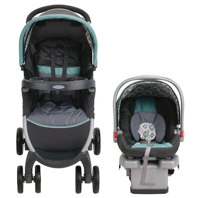 Graco Fast Action Click Connect Travel System