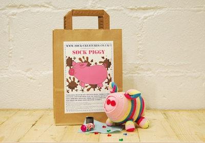 Sock Piggy Craft Set