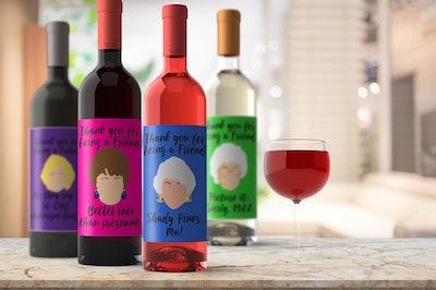 Golden Girls Wine Labels Set