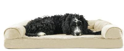 FurHaven Plush & Suede Orthopedic Sofa