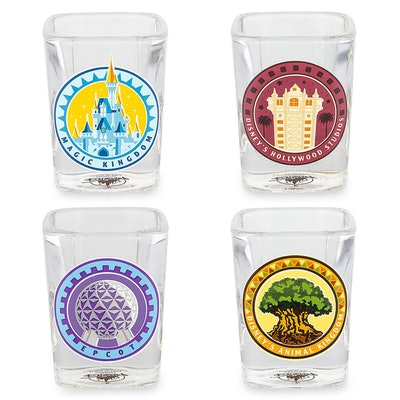 Walt Disney World Mini Glass Set