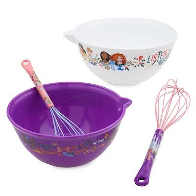 Disney Princess Mixing Bowl and Whisk Set