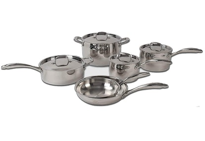 Lenox 10-Piece Stainless Steel Cookware Set