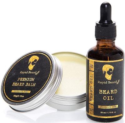 Beard Oil and Beard Balm Kit for Men Care