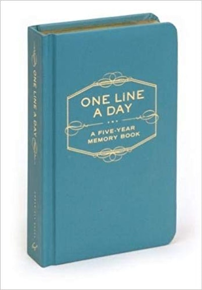 One Line a Day: A Five-Year Memory Book By Chronicle Books Staff