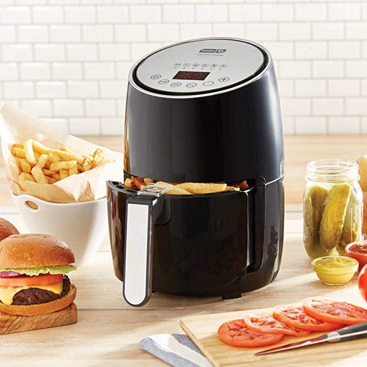 DASH Compact Electric Air Fryer And Oven Cooker
