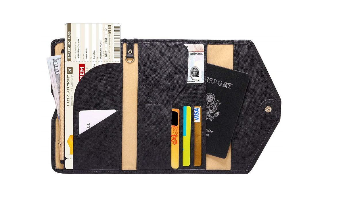 Zoppen Multi-Purpose Passport Wallet