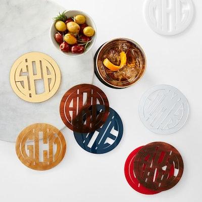 Acrylic Coasters, Set of 4