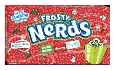 Nerds Christmas Frosty Theatre Box