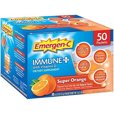 Emergen-C Immune+ Dietary Supplement (50 Count)