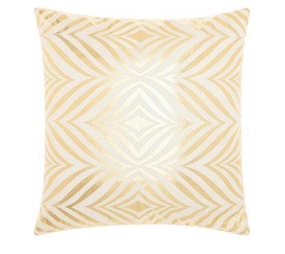 Mina Victory Diamond Zebra Throw Pillow