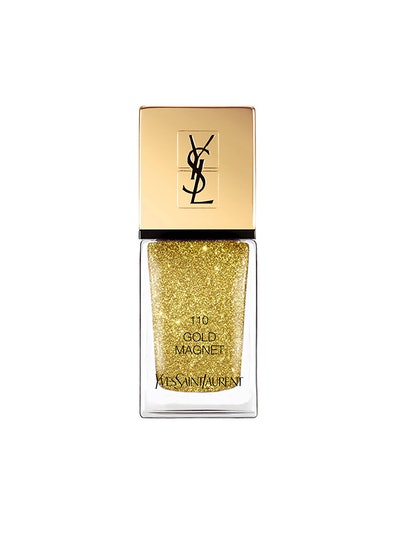 """La Laque Couture Nail Lacquer In """"Gold Magnet"""""""