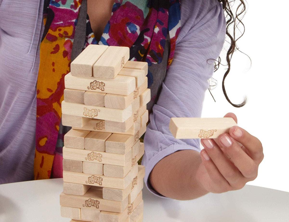 Hasbro Jenga Wooden Blocks Game