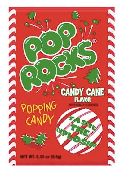 Pop Rocks Christmas Candy Cane