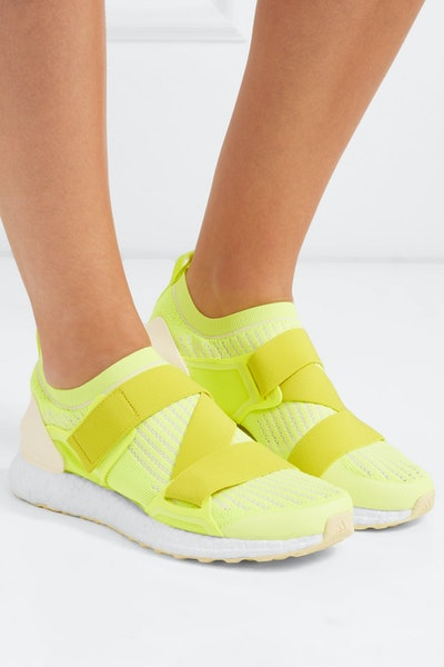 Adidas By Stella McCartney UltraBoost x Neon Primeknit Sneakers