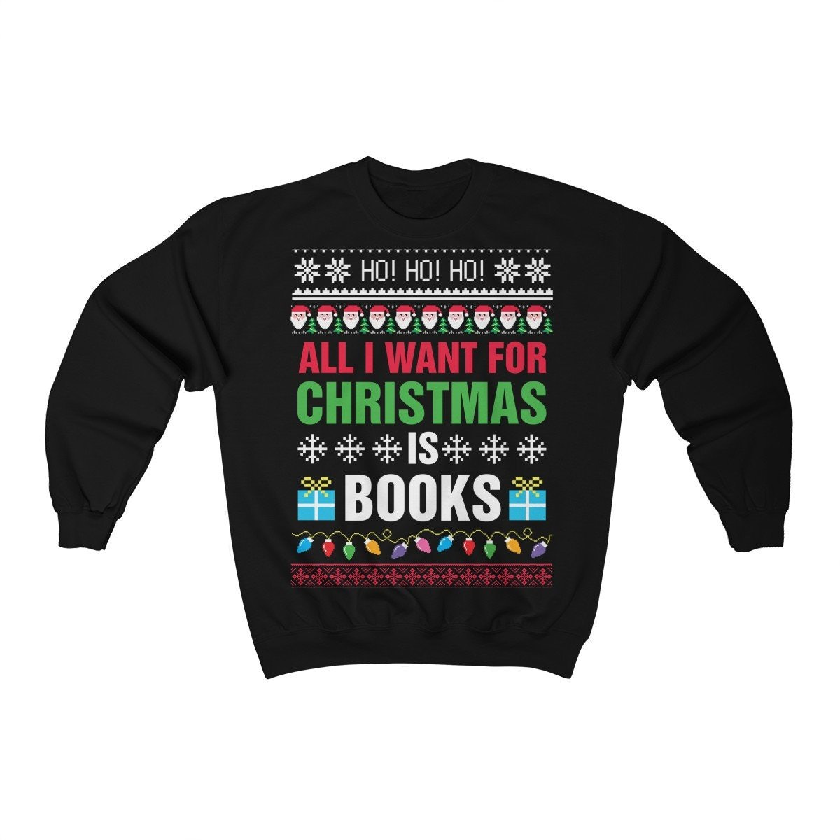 Be The Best K-Pop Fan with This Ugly Christmas Sweater Sweatshirt