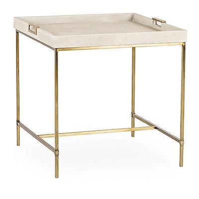 Maison 55 Lexi Tray Side Table, Ivory