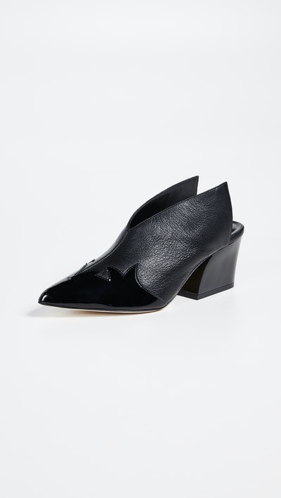 Tibi Floyd Mules in Black