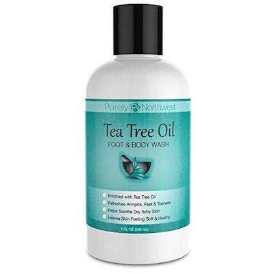 Antifungal Tea Tree Oil Foot And Body Wash