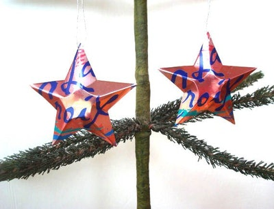LaCroix Star Ornament