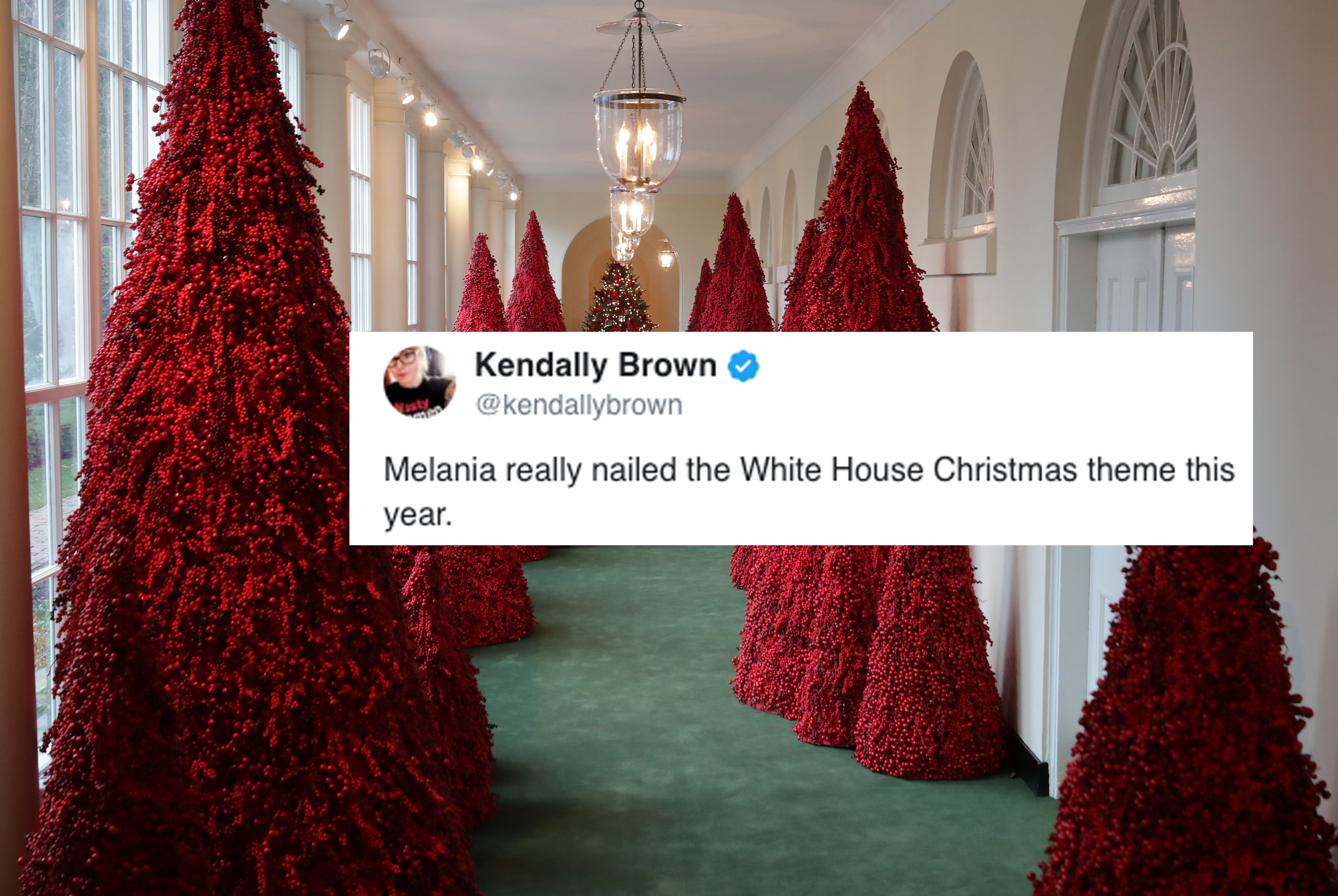 White House Christmas Decorations 2020 Meme These Melania Trump Christmas Memes Are Twitter's Latest Gift To You