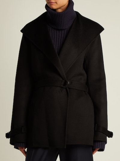 Lima Wrap Wool And Cashmere-Blend Coat