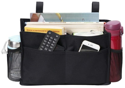 MISSLO Mini Bedside Caddy Hanging Storage Organizer