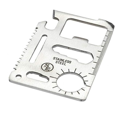 SE MT908-1 11-Function Stainless Steel Survival Pocket Tool