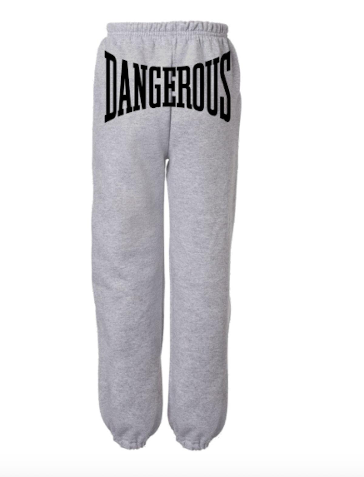 Dangerous Grey Sweatpants