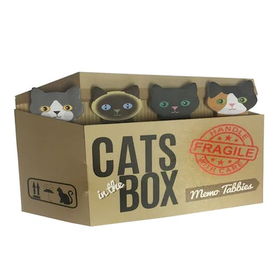 Streamline Cats In The Box Memo Tabbies