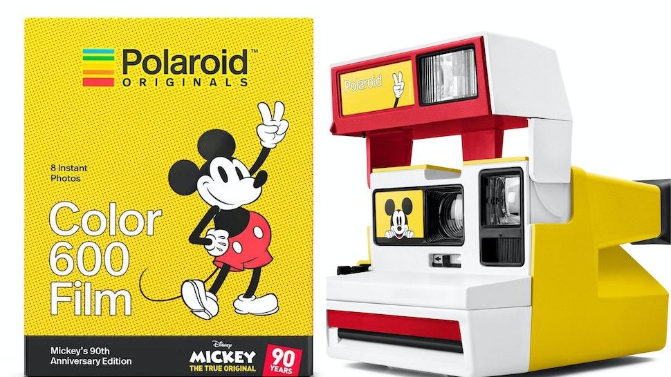 Polaroid Originals Disney Mickey Mouse 90th Anniversary Edition Set