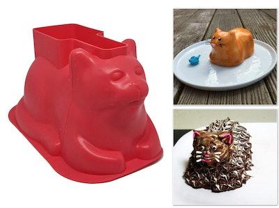 Kitty Cupcake Mold