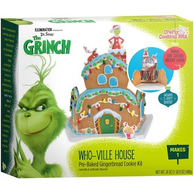 Crafty Cooking Kits Grinch Whoville Gingerbread House Kit