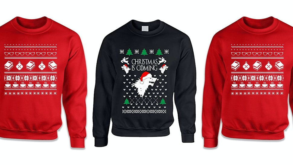 15 Literary Ugly Christmas Sweaters Youll Want To Wear All Year Long