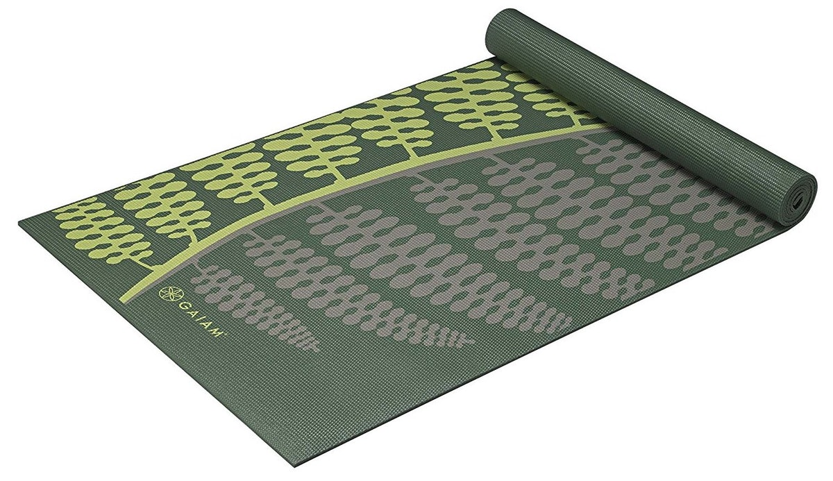 Gaiam Yoga Mat, 6mm Extra Thick