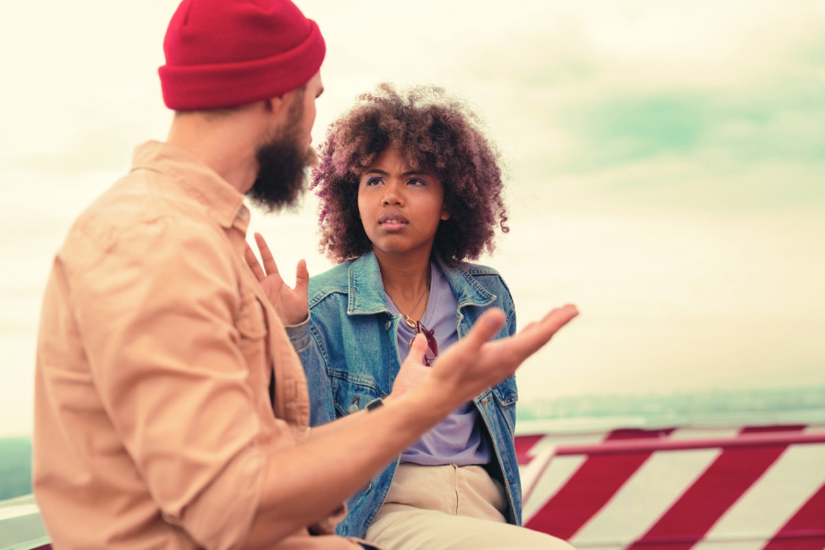 If you catch your partner in a lie, then you should call them out on it.