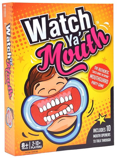Watch Ya' Mouth Mouthguard Party Card Game