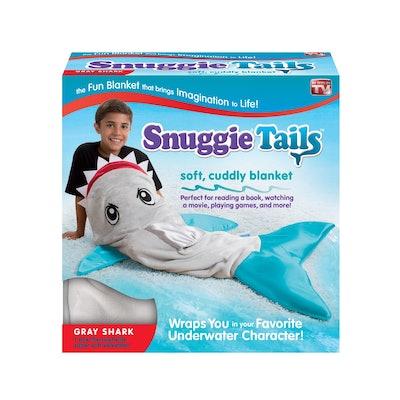 Shark Snuggie Tail Blanket