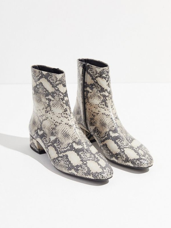 6a813b03cdc Bella Hadid s  130 Snakeskin Boots Are Selling Out Fast At Mango
