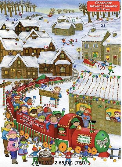 Santa's Express Chocolate Advent Calendar