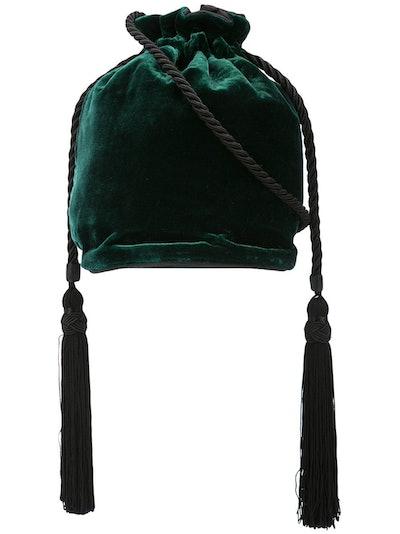 Velvet Bucket Bag