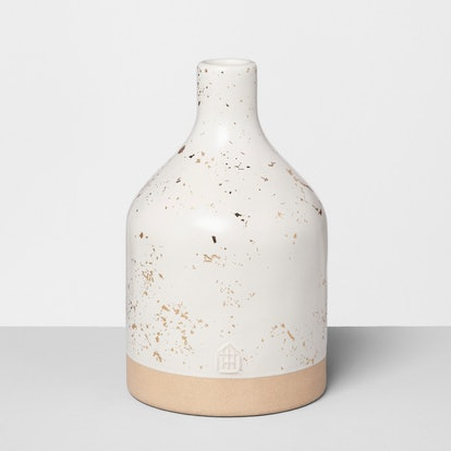 Hearth & Hand™ with Magnolia - Jug Vase Speckled - White