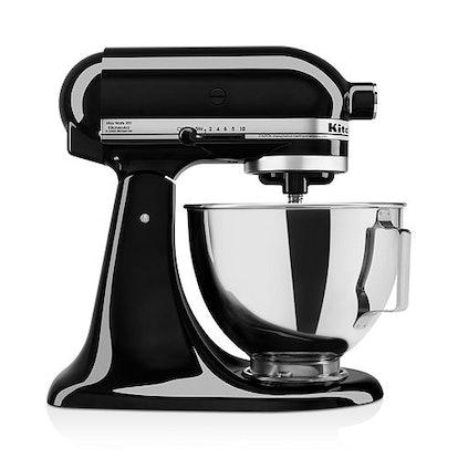 KitchenAid 4.5-Quart 10-Speed Tilt-Head Stand Mixer in Onyx Black