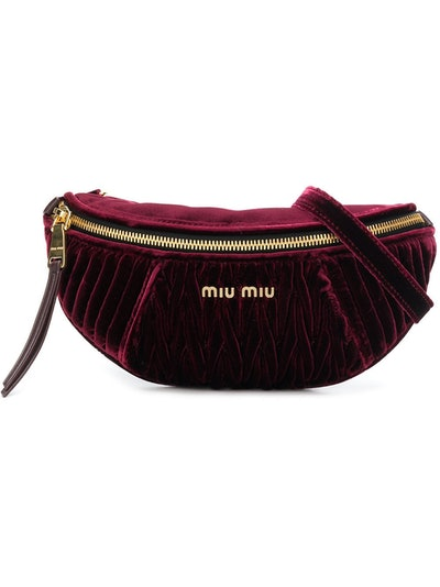 Velvet Belt Bag