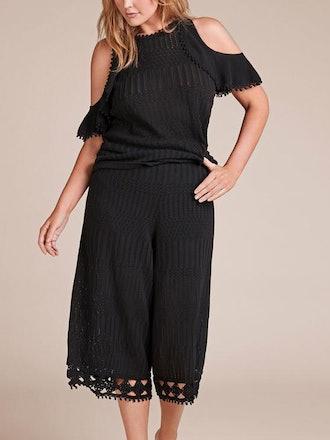 Lacy Cotton Crochet Pant
