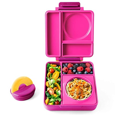 OmieBox Leak-Proof 3-Compartment Bento Lunch Box