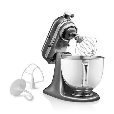 KitchenAid Artisan Series 5-Quart Tilt-Head Stand Mixer #KSM150PS in Pearl Metallic