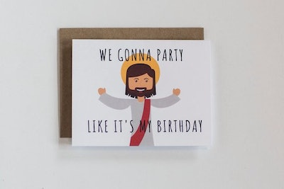 'Party Like It's My Birthday' Card