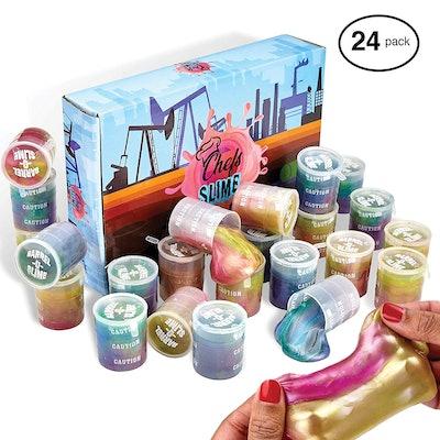 Barrel O Slime Mud Sludge Putty (24 Pack)