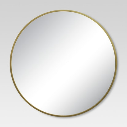Project 62™ - Round Decorative Wall Mirror Brass